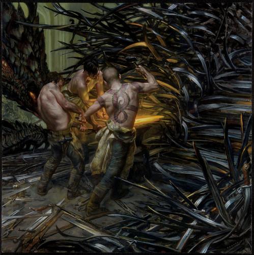 Песнь Льда и Огня Обои called A Song Of Ice And огонь - 2015 Calendar - Forging the Iron трон