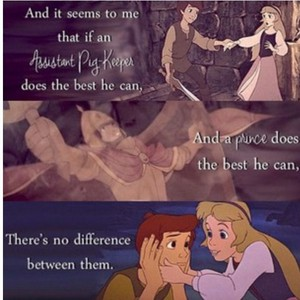 A great quote from Eilonwy from the books.