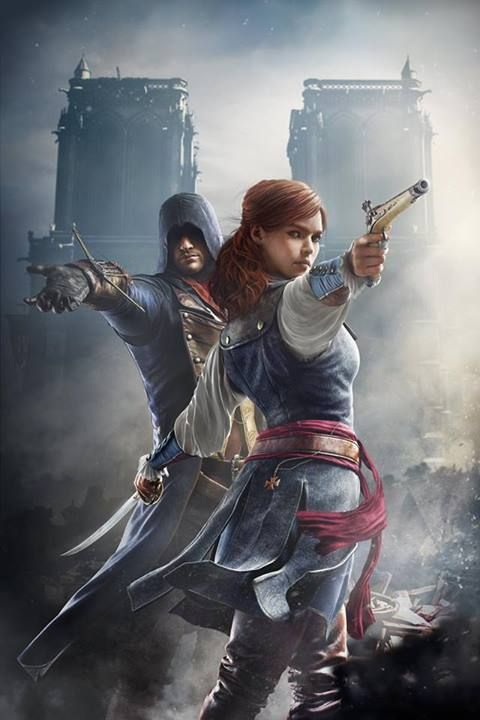 Ac Unity Elise And Arno Assassin S Creed Foto 37690514 Fanpop