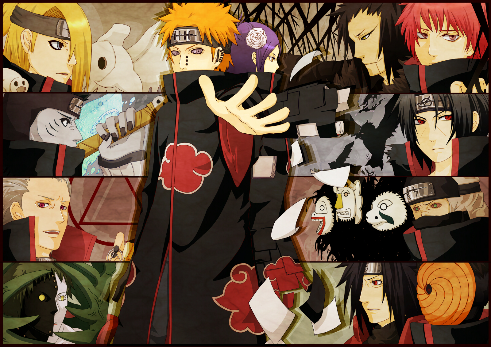 Good Wallpaper Naruto Group - Akatsuki-Group-Section-naruto-fan-fiction-37627291-1600-1132  Pic_29330.jpg
