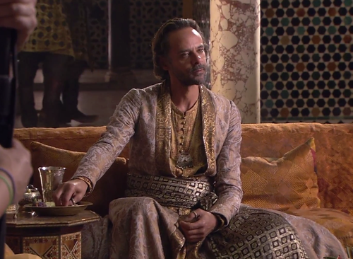 Alexander Siddig as Doran Martell in Season 5 of Game of Thrones
