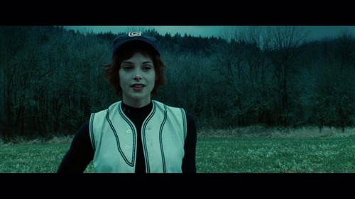 Alice Cullen kertas dinding possibly containing a Televisyen receiver, a carriageway, and an outerwear called Alice Cullen
