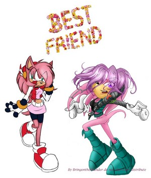 Amy and Julie-su best Friends