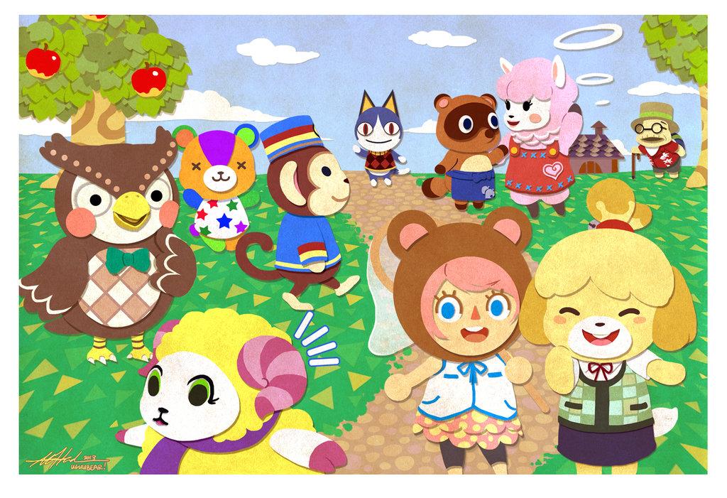 Animal Crossing Fa Art Animal Crossing Fa Art 37695930 Fanpop