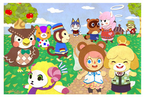 Animal Crossing peminat Art