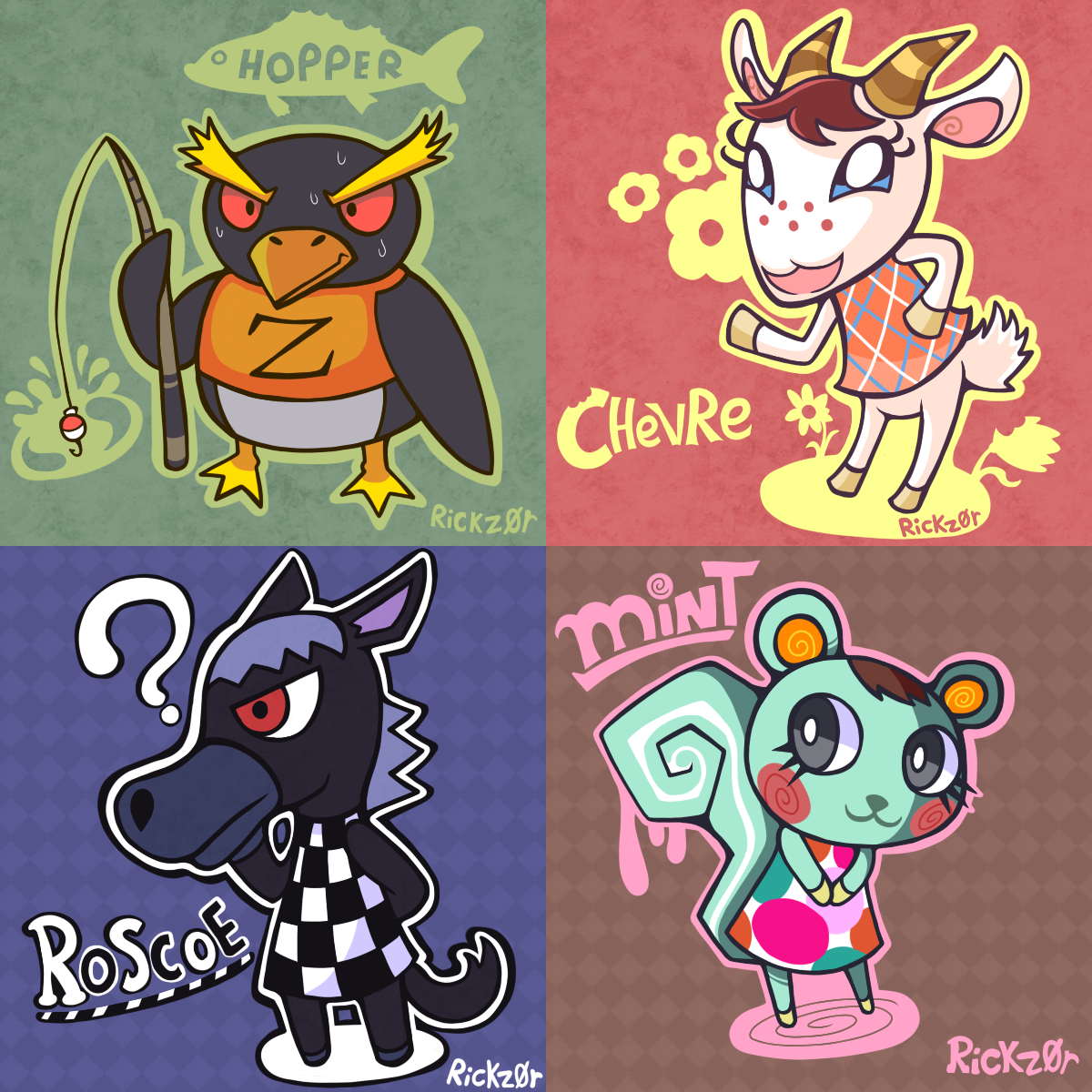 Animal Crossing: New Leaf--wow, I really like the style