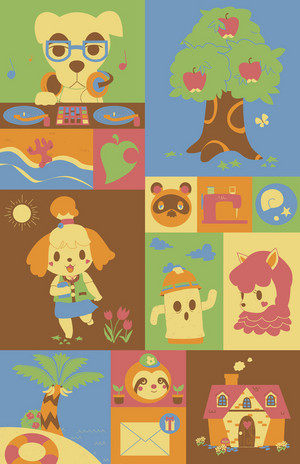 Animal Crossing অনুরাগী Art