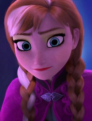 Anna's morphin' look