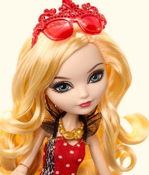 Apple White With Glasses Ever After High Apple White