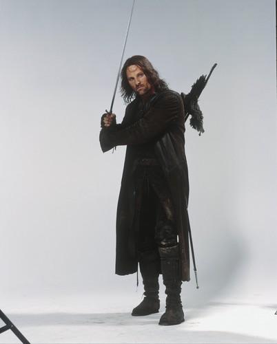 반지의 제왕 바탕화면 entitled Aragorn lotr