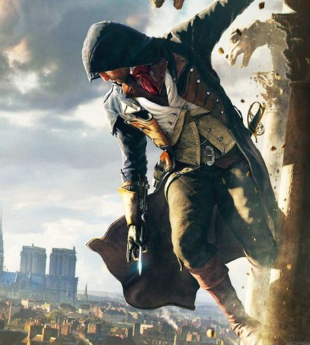 Assassins Creed Wallpaper Containing A Rifleman Called Unity