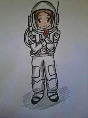 Astronaut Kari/hikari