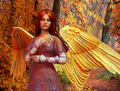 Autumn Angel 2 - angels photo