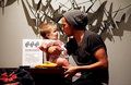 Aww!! Baby Lux and Louis