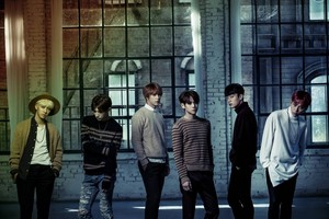B2ST group teaser image for 'Time'