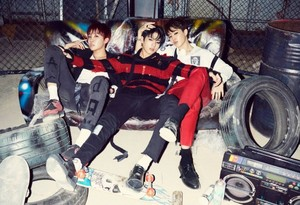 Bangtan Boys concept fotos for 'Hormone War'