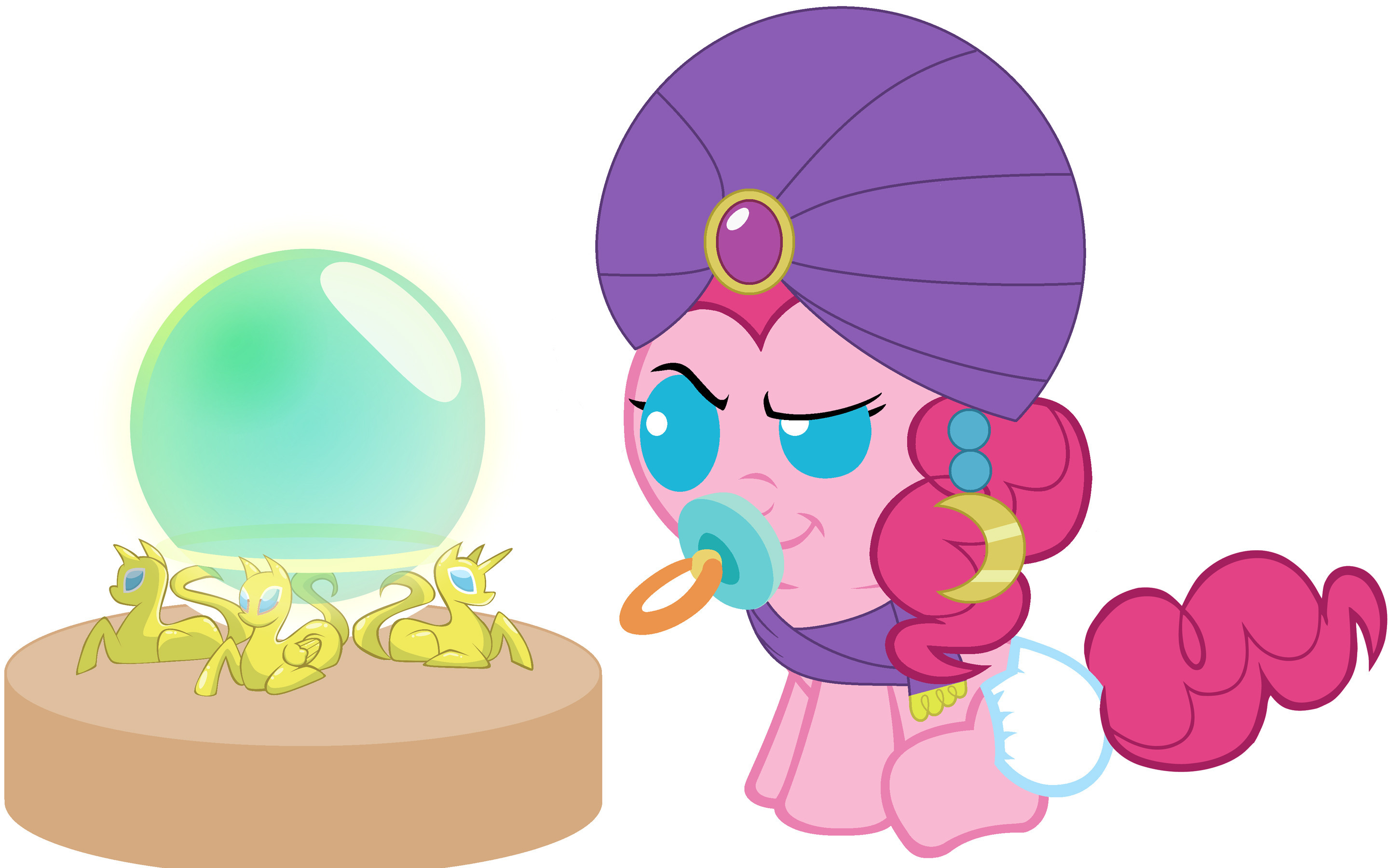 My Little Pony Babies images Baby Pinkie Pie can read the Future