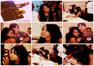 BabyGirl signing her masterpiece ♥