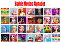 Barbie Movies Alphabet  - barbie-movies fan art