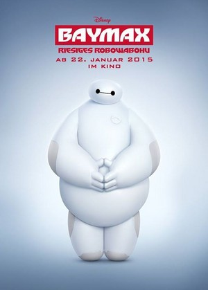 Baymax German Poster