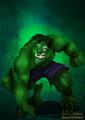 Beast dress Up for Halloween as Hulk