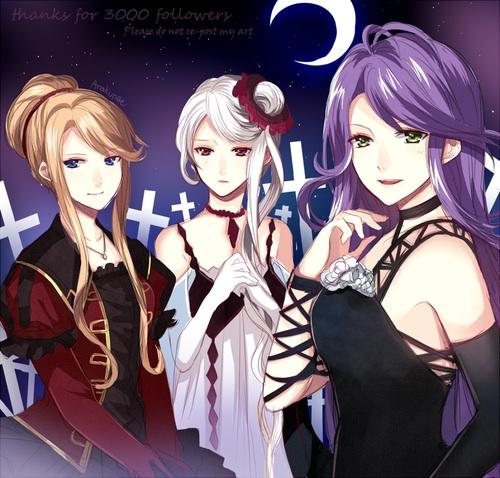Beatrix, Christa, Cordelia