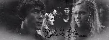 The 100 wallpaper possibly containing a portrait called Bellamy and Clake
