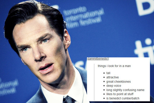 Benedict Cumberbatch wallpaper containing a business suit titled Benedict - Tumblr Text Posts