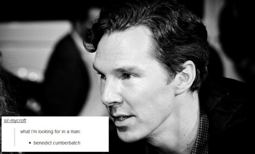 Benedict Cumberbatch wallpaper possibly containing a portrait called Benedict - Tumblr Text Posts