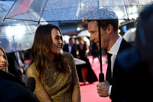 Benedict and Keira at The Imitation Game Opening Night Gala