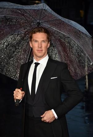 Benedict at The Imitation Game Opening Night Gala