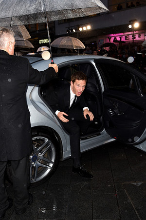 Benedict at The Imitation Game Opening Night Gala