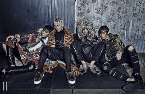 Big Bang for 'W Korea'
