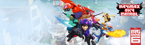 Big Hero 6 - Baymax Sky Patrol Game