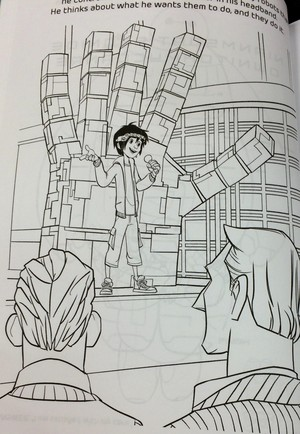 Big Hero 6 - Coloring Book Pages