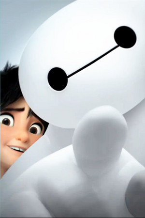 Big Hero 6 Iphone kertas dinding