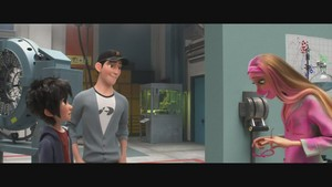 Big Hero 6 Meet the Team Clip - Hiro, Tadashi and Honey