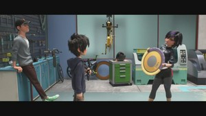 Big Hero 6 Meet the Team Clip - Tadashi, Hiro and GoGo