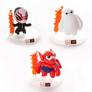 Big Hero 6 Mini Figurines - Yokai and Baymax