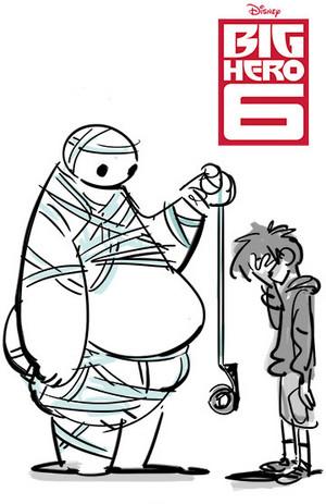 Big Hero 6 Poster Concept Art
