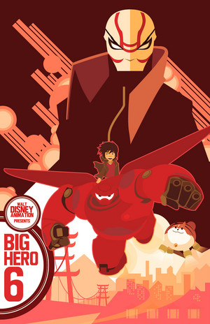 Big Hero 6 Poster (Fan made)
