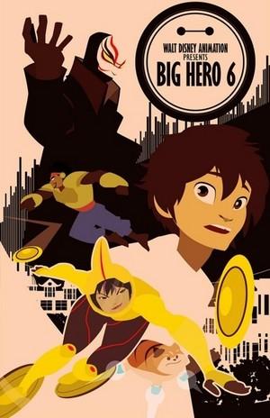 Big Hero 6 Poster (Fan made)