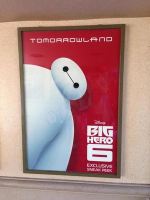 Big Hero 6 Sneak Peek at Tomorrowland, Disneyland