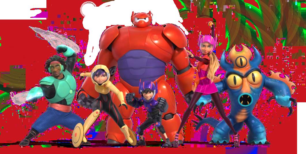 Big Hero 6 Transparent