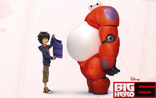 Big Hero 6 Hintergrund containing a meteorological balloon called Big Hero 6 Hintergrund
