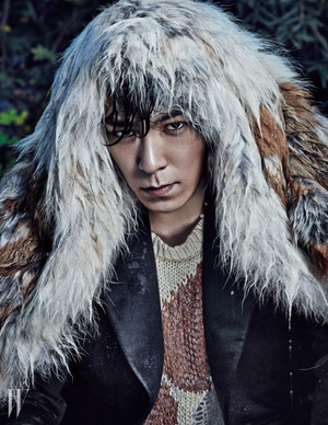Bigbang T.O.P. for V Korea Magazine~Wild things❤ ❥