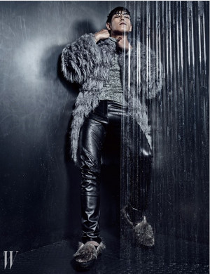 Bigbang T.O.P.for W Korea Magazine~Wild things❤ ❥