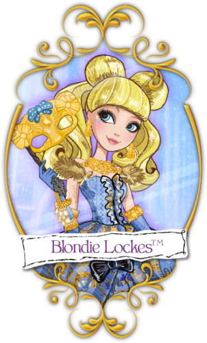 Ever After High wallpaper entitled Blondie Thronecoming
