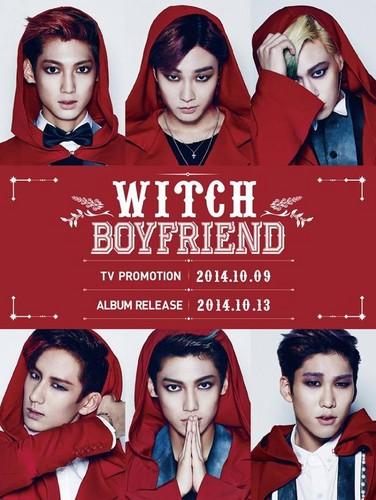 Boyfriend hình nền probably containing a portrait entitled Boyfriend 'WITCH'