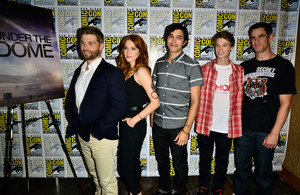 CBS Press Lines at Comic-Con